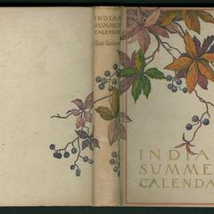 Indian summer calendar