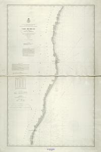 Lake Michigan coast chart no. 2. Vicinity of Sheboygan
