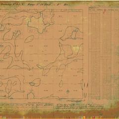 [Public Land Survey System map: Wisconsin Township 34 North, Range 10 East]