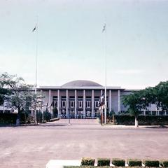 The Parliament Building, Kinshasa