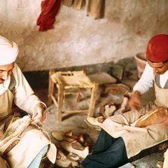 Boot Makers in Douz