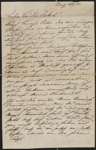[Letter from Kajetan Sternberger to his brother, Jakob, November 26, 1864]