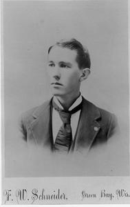 John Rose, Sr. (banker) as a young man