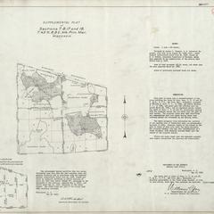 [Public Land Survey System map: Wisconsin Township 43 North, Range 08 East]