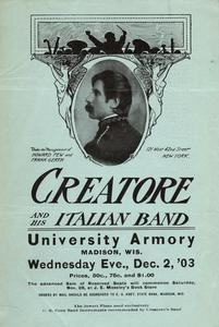 """Creatore and his Italian Band"" program"