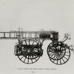 Pirsch horse-drawn fire engine