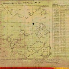 [Public Land Survey System map: Wisconsin Township 43 North, Range 11 West]