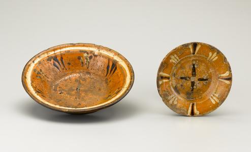 Bowl and saucer