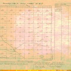[Public Land Survey System map: Wisconsin Township 15 North, Range 06 East]