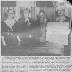 Ex-Arkansas cityan honored