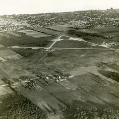 Aerial view of Racine Airport