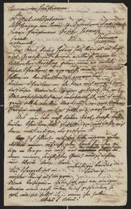 [Letter from Ludwig Sternberger to his brother, Karl, undated, but presumed before 1848]
