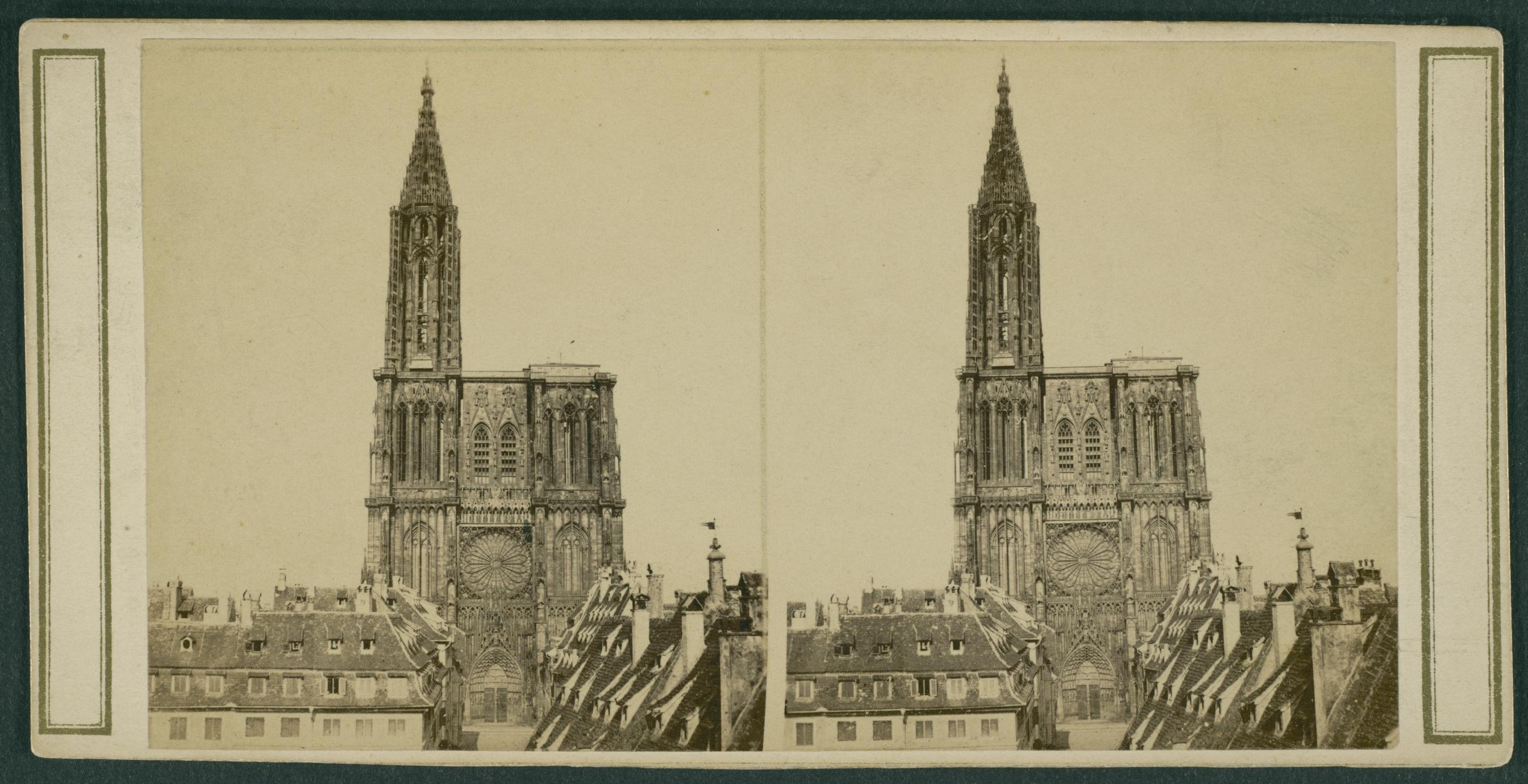 Strasbourg, June 14th, 1866. J. M. Hubbard (1 of 3)