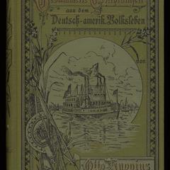 Gesammelte Erzählungen aus dem deutschen und deutsch-amerikanischen Volksleben; Bd. 1. Der Pedlar