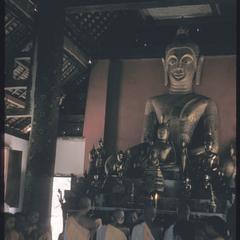 2500th Anniversary of Buddhism- interior of Vat Mai