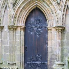 Bolton Priory exterior nave aisle