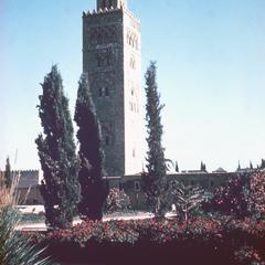 Mosque of Koutoubia in Marrakech