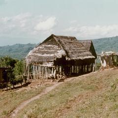 White Lahu (Lahu Hpu) village of Chalopha in Houa Khong Province