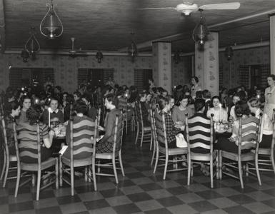 Barnard Hall dining room