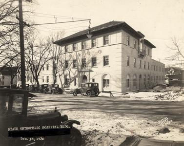 State Orthopedic hospital building
