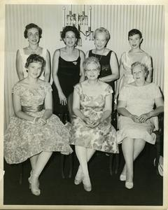 Alpha Phi installation at Stout State College, May 24, 1958