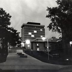 Van Vleck at night