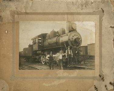Chicago and Northwestern Railroad, engine number 63