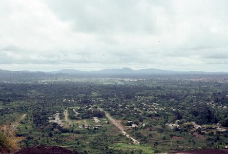 View of town from Ife hill