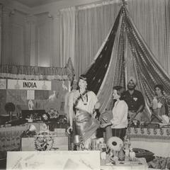 International Club India booth