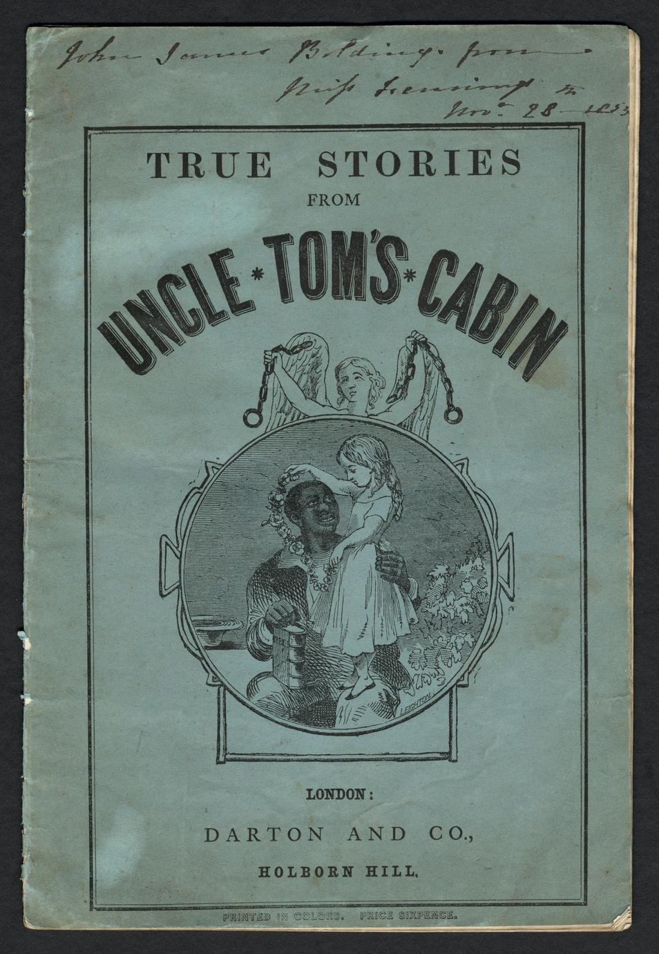 True stories from Uncle Tom's cabin (1 of 3)