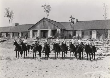 Point Beach equestrians