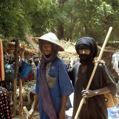 Fulbe Men in the Tanout Market.