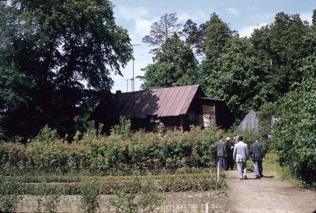 Soviet farmhouse