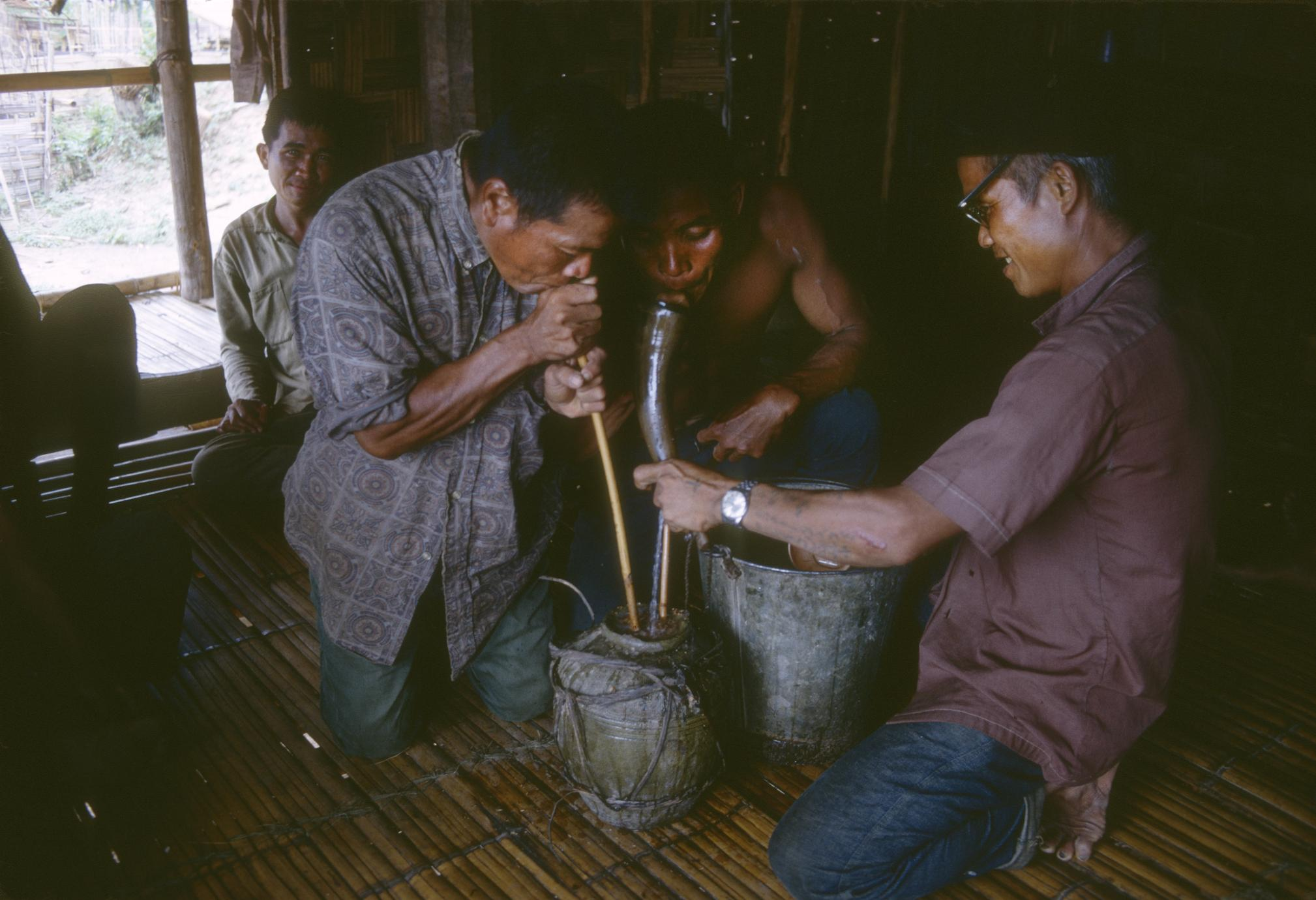Drinking Lao Hai