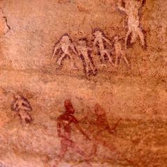 Petroglyph : Various Styles of Human Figures