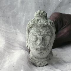 NG473, Stucco Head of Buddha
