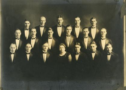 Men's Glee Club group photograph