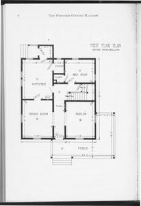 Practice Cottage floor plan 1912