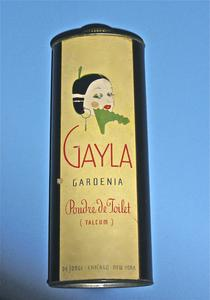 Gayla Gardenia Poudre de Toilet (Talcum) tin