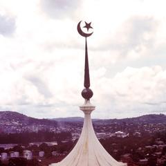 Kivuli-Top of the Mosque