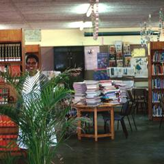 School Library, 1997