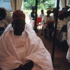 Guests at the Ifaturoti wedding