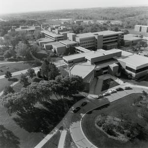 Aerial view of UW-Parkside