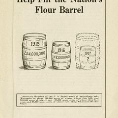 Help fill the nation's flour barrel