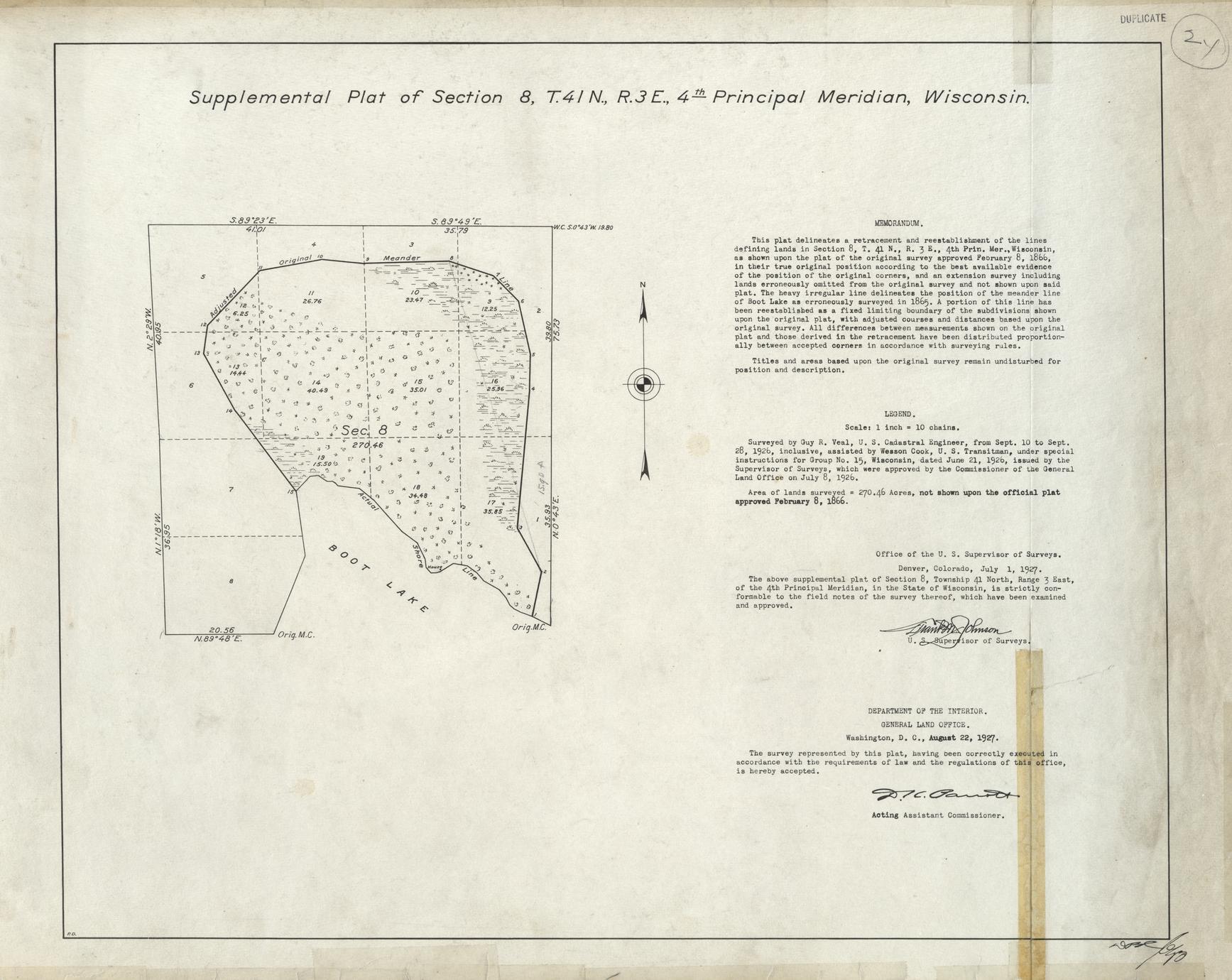 [Public Land Survey System map: Wisconsin Township 41 North, Range 03 East]