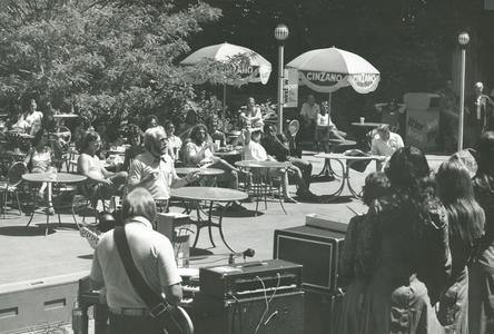 David Crosby conducting