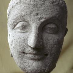 NG470, Stucco Head of Buddha