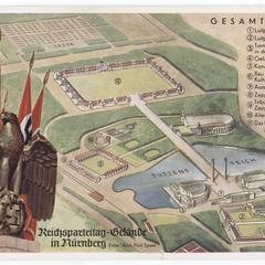 Reichsparteitag-Gelände in Nürnberg