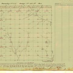 [Public Land Survey System map: Wisconsin Township 09 North, Range 03 West]