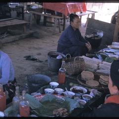 Yao village--market